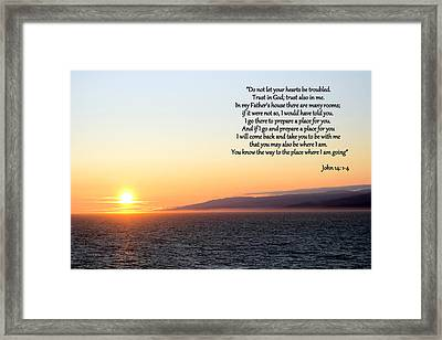 Look To The Son Framed Print