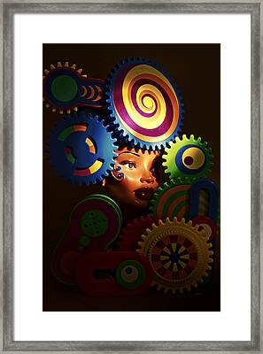 Looker Framed Print by Jeff  Gettis