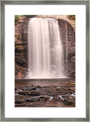 Lookging Glass Falls Framed Print