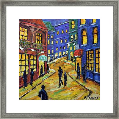 Lookin For Some Fun By Prankearts Framed Print