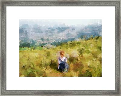 Looking At Hk From The Hills Framed Print by Yury Malkov