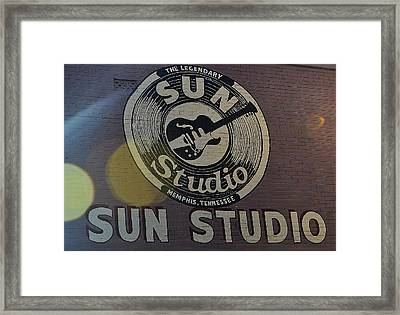 Looking At The Sun Framed Print by Joe Bledsoe