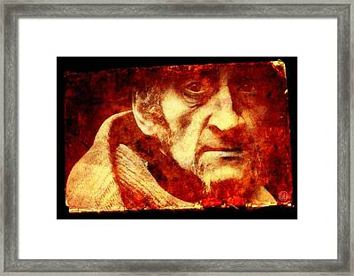 Looking At You From Long Ago Framed Print