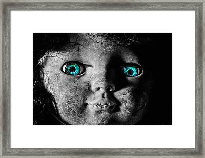 Looking At You Kid Framed Print by JC Findley