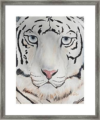 Looking At You Framed Print by Patricia Olson