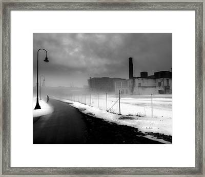 Looking Back At Time Framed Print