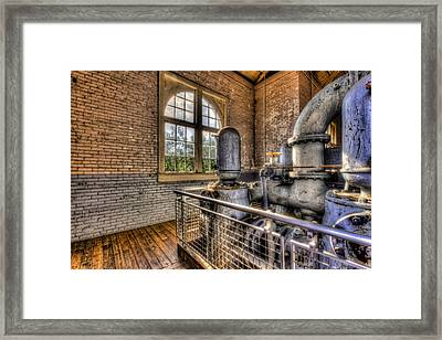 Looking Back Framed Print