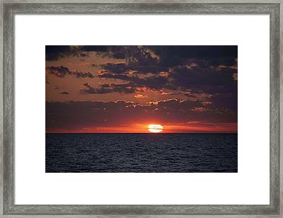 Looking Back In Time Framed Print by Daniel Sheldon