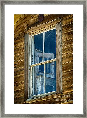 Looking Back In Time Framed Print by Sandra Bronstein