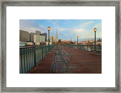 Looking Back Framed Print by Jonathan Nguyen