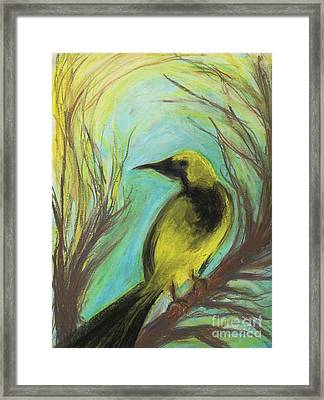 Looking Back Framed Print by Paula Cork