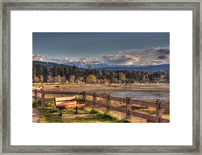 Looking Back Framed Print by Randy Hall