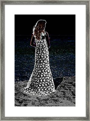 Looking Beyond  Framed Print by Leticia Latocki