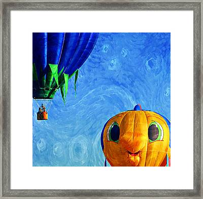 Looking Beyond What You See Framed Print