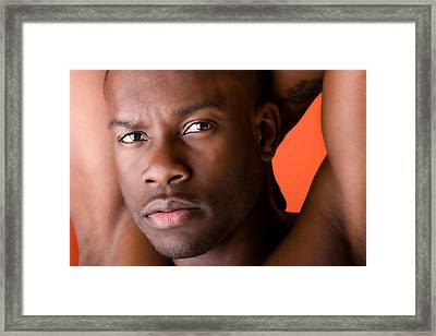Looking Cool In Color Framed Print