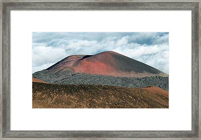Framed Print featuring the photograph Looking Down by Jim Thompson