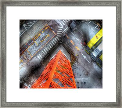 Looking Down Framed Print by Juli Scalzi
