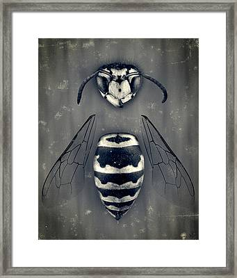 Looking Down Upon Myself Framed Print by Adam Romanowicz