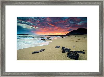 Framed Print featuring the photograph Looking East by Robert  Aycock