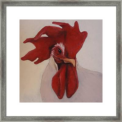 Looking Fierce Framed Print by Kelley Smith