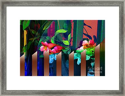 Looking For Abstract Framed Print