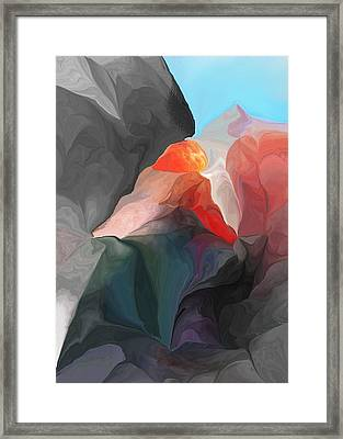 Looking For Adventure Framed Print by David Lane