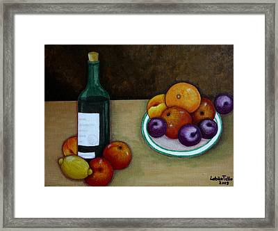 Looking For Cezanne Framed Print by Madalena Lobao-Tello