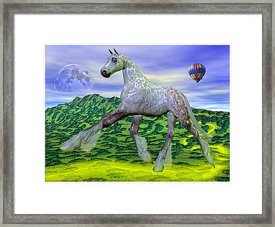 Looking For Dorothy Framed Print by Betsy C Knapp