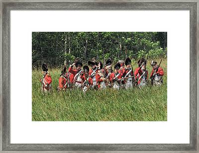 Looking For Support Framed Print by William Coffey
