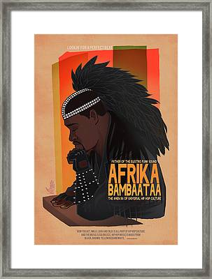 Looking For The Perfect Beat Framed Print by Nelson Dedos Garcia