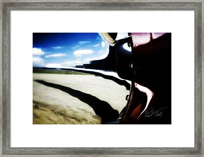Framed Print featuring the photograph Looking Forward by Paul Job