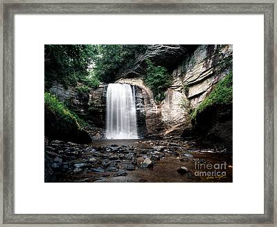 Looking Glass Falls 2007 Framed Print