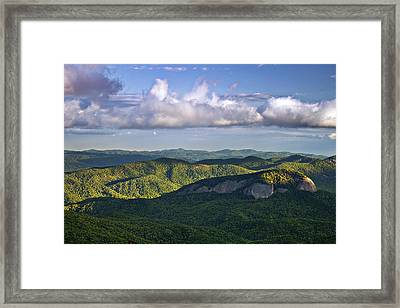 Looking Glass Rock Framed Print by Andrew Soundarajan
