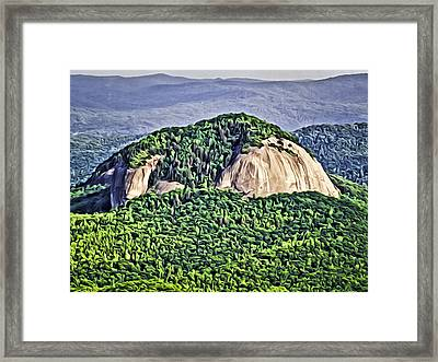 Looking Glass Rock Framed Print by Patrick M Lynch