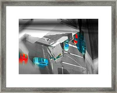 Looking High And Low Framed Print by Diana Angstadt
