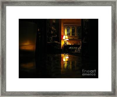 Looking In... Framed Print