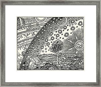 Looking Into The Cosmos Framed Print by Detlev Van Ravenswaay