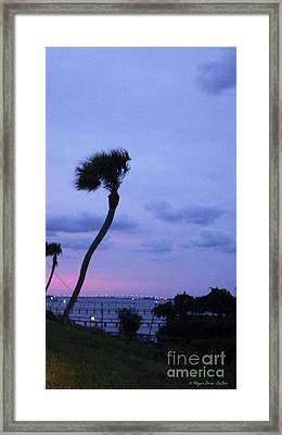 Framed Print featuring the photograph Looking North1 by Megan Dirsa-DuBois