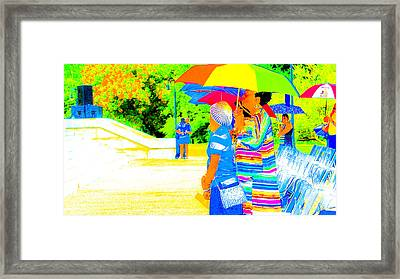 Looking Beyond Framed Print by Philip Zion