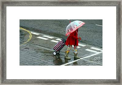 Looking On The Bright Side Framed Print by Pete Edmunds