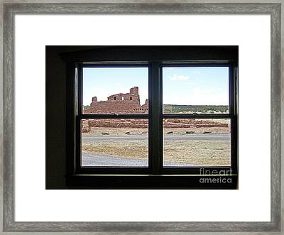 Looking Out At Abo Framed Print