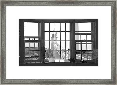 Looking Out Framed Print by Mike McGlothlen