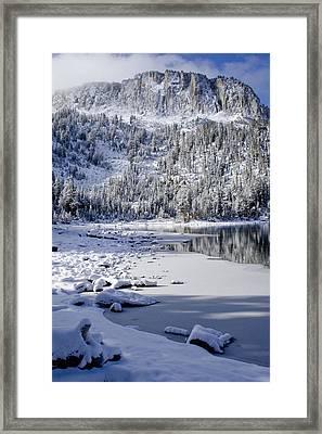 Looking Over Mcleod Framed Print by Chris Brannen