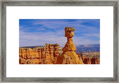 Looking Over Sunset Point  Framed Print by Jeff Swan
