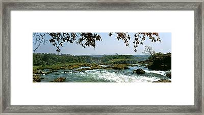 Looking Over The Top Of The Victoria Framed Print by Panoramic Images