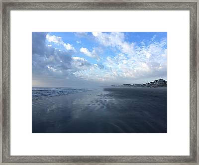 Looking South Framed Print by M West