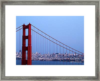 Looking Through Framed Print by Eva Kato