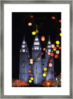 Looking Through Light Framed Print by Chad Dutson