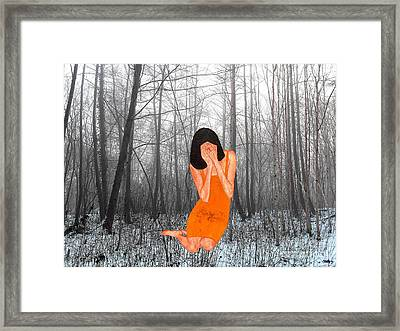 Looking Through My Fingers 3 Framed Print by Patrick J Murphy