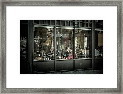 Looking Through The Glass Framed Print by Scott Wyatt
